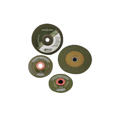 x 3//8-24 Arbor Pack of 10 Rex-Cut Abrasives 730014 Sigma Green Grinding Wheel 4in Dia 36 Grit