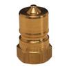 Zinc Plated Steel Dixon 0304C-32 2-1//2-12 Fem JIC 37/° Cap x 2 Tube OD